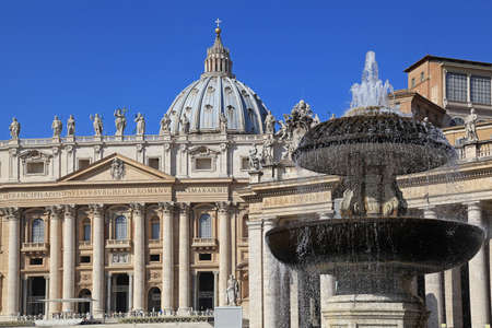 St. Peters Basilica, Rome, 2011 Stock Photo - 17201756