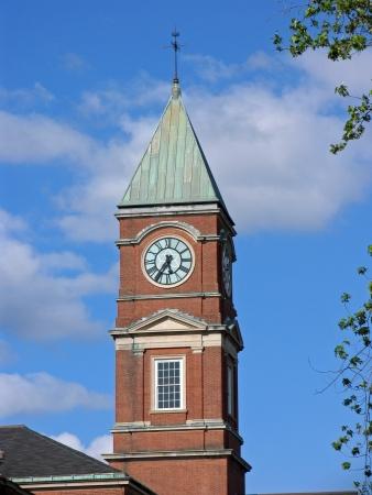 clocktower: school clocktower, Connecticut, 2010