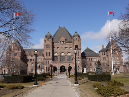 Ontario Parliament Building in Toronto, 2010