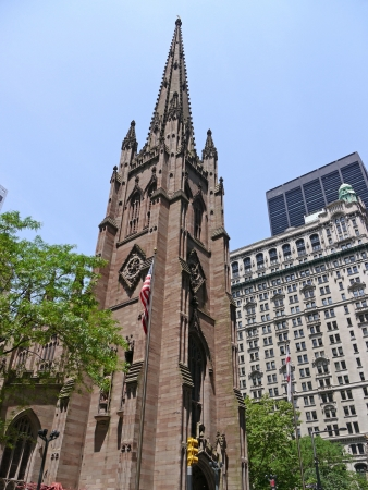 Trinity Church, Wall Street, Manhattan, 2011