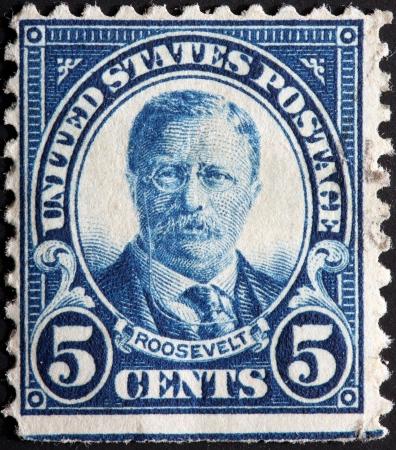 roosevelt: Teddy Roosevelt stamp, circa 1930