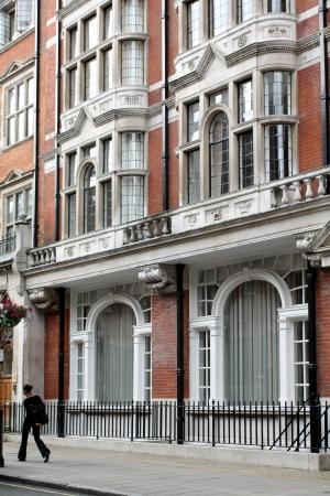 expensive: London apartment building, Mayfair, 2009