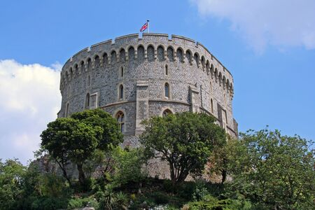 Round Tower, Windsor Castle, England, 2007