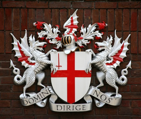 st: Historic City of London Coat of Arms, England, 2009