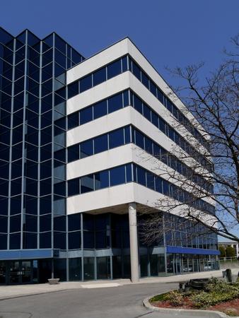 suburban: small suburban office building, Chicago, 2013