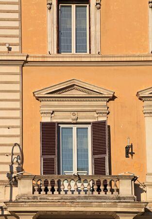 balcony in Rome, 2011