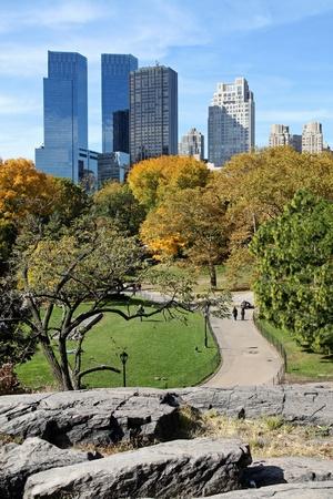 Manhattan skyline from Central Park, 2011