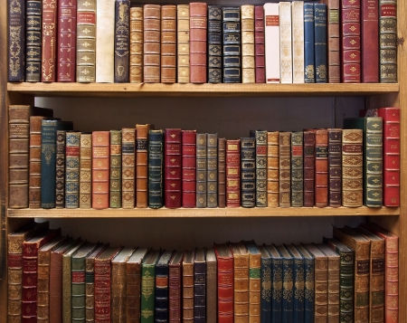 Old books, Oxford, England 2013
