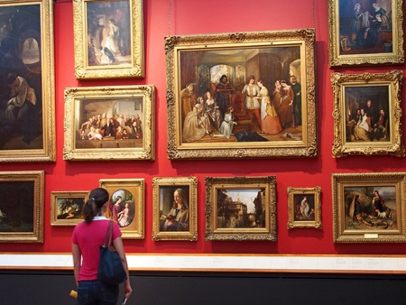 Paintings, Victoria and Albert Museum, London, 2013