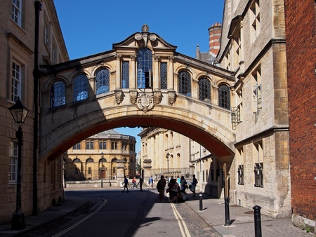 Oxford University, Bridge of Sighs, 2013