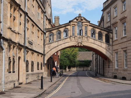 Oxford University, New College Lane and Bridge of Sighs, 2013