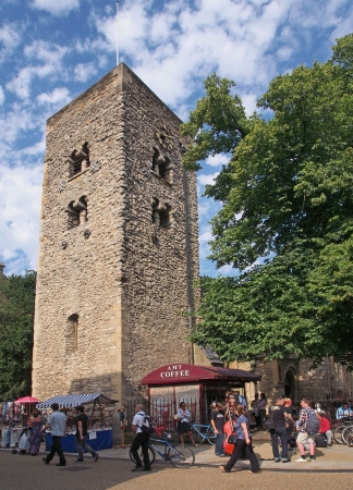 oldest: St  Michael Tower, oldest building in Oxford, 2013