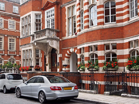 townhouses: elegant London townhouses, Mayfair, 2013