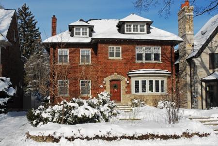 middle class: casa en invierno, Chicago 2010