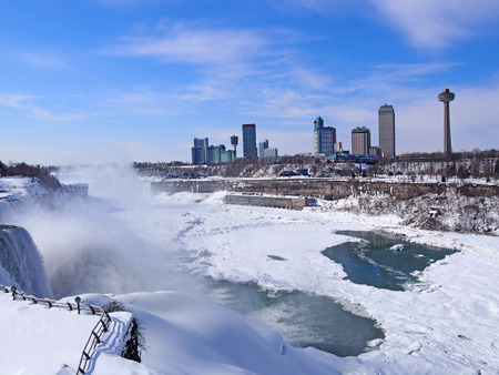Niagara Falls in winter, Feb  2014