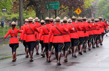 mountie: Royal Canadian Mounted Police, Toronto, 2010 Editorial