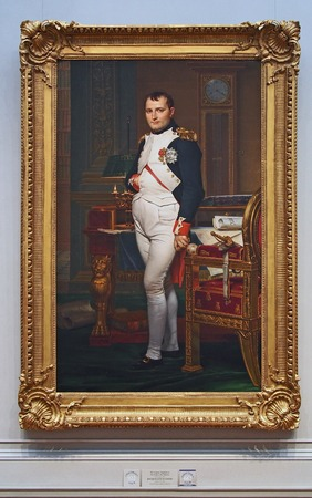 Portret van Napoleon, de National Gallery, Washington Redactioneel