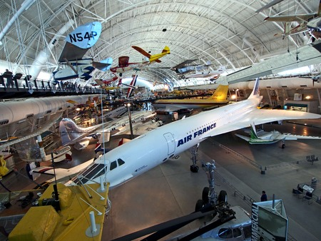 Udvar-Hazy, Smithsonian, Air and Space Museum, 2014