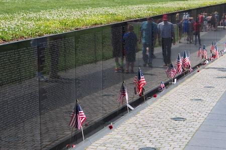 Viet Nam War Memorial, Washington, 2014