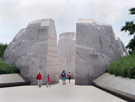 Martin Luther King Memorial, Washington, 2014