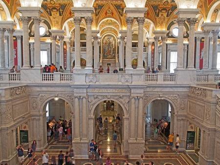 Library of Congress lobby, Washington, 2014 Editoriali