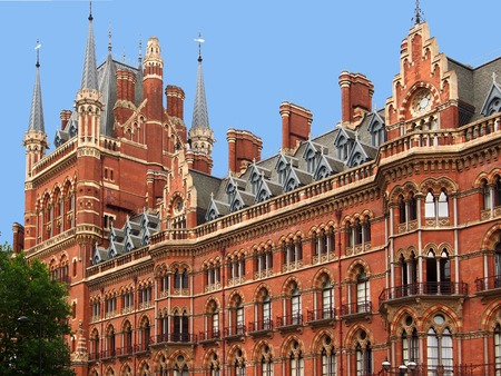 pancras: London, St. Pancras Railway station, 2013