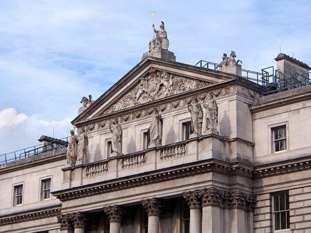 statutes: Somerset House, London, Naval Headquarters, 2013