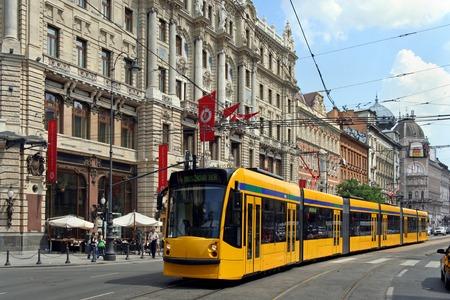 main street: Budapest main street railway, 2011