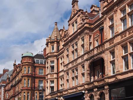terracotta: London, terracotta building facade, 2013