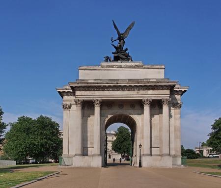 duke: Duke of Wellington Memorial Arch, London