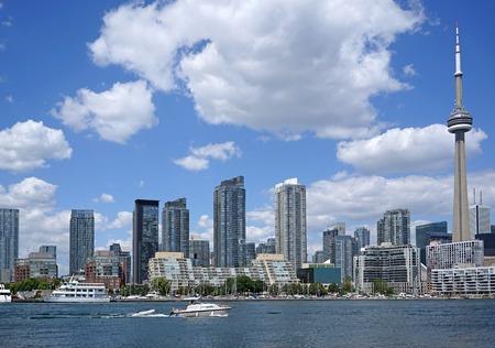 toronto: Toronto waterfront condominium apartment buildings Stock Photo