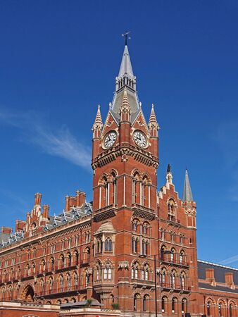 pancras: St. Pancras Railway Station, London
