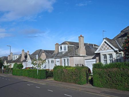 suburban: English suburban street