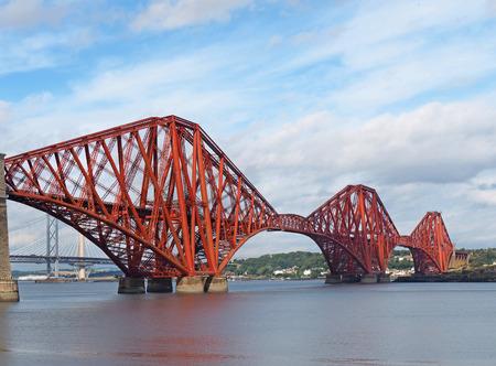 forth: Firth of Forth railway bridge, Scotland, 2016