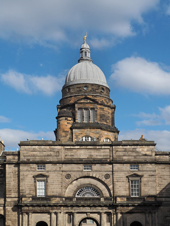 classical style: Classical style college building, University of Edinburgh, 2016