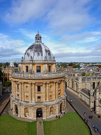 Oxford University, Radcliffe Camera, 2016