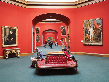 The Scottish National Gallery has an excellent collection, tastefully arranged, and admission is free,