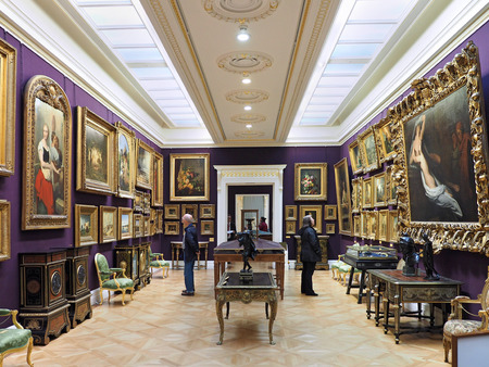 wallace: London art gallery, Wallace Collection, 2017
