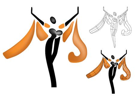 dancing woman Stock Vector - 8557340