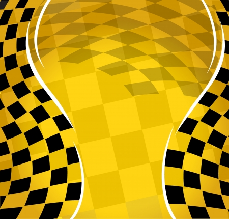 motocross:  checkered racing background