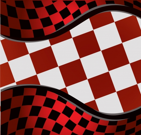 checkered racing background   Stock Vector - 15973112