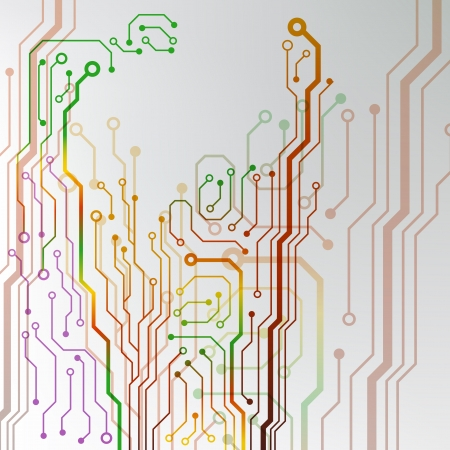 circuit board background  eps10 vector illustration
