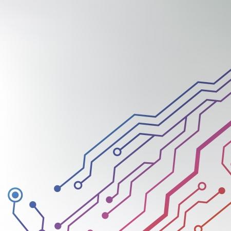 circuit board background  eps10 vector illustration