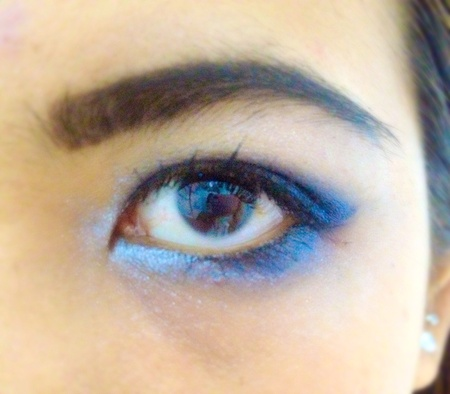 eye: Woman eye with make up smoky eye