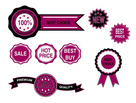 Set of business badges,labels stickers