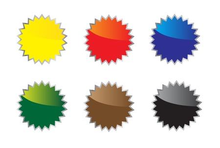 Conjunto de iconos coloridos