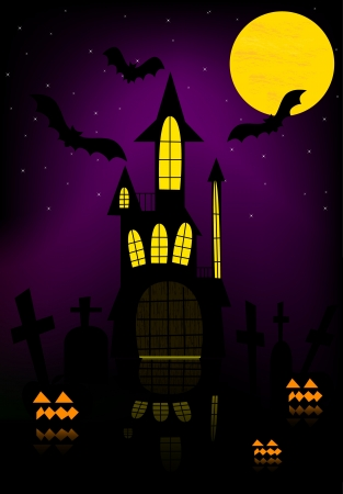 Halloween background Vector Stock Vector - 15574994