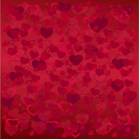 Pattern heart background   Illustration