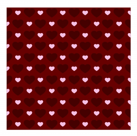 Retro heart pattern, texture   Vector