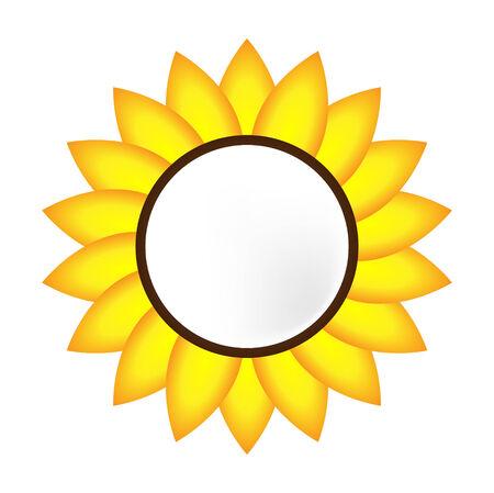 Sunflower banner Vector Vector